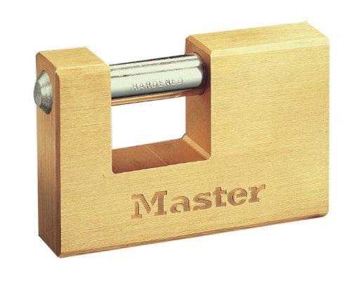 Rectangular 63mm Solid Brass Body Shutter - Monoblock Shutter Padlock