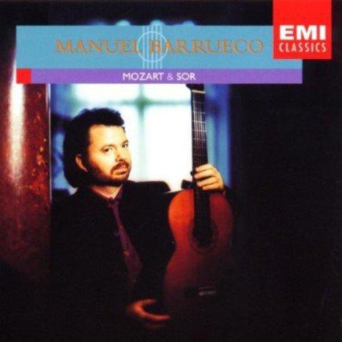 Cover of Manuel Barrueco - Mozart & Sor for Guitar