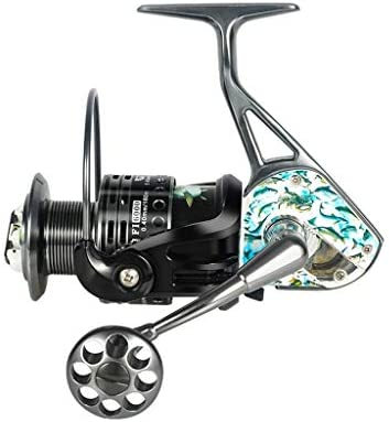 ZREELS 釣りリール、 軽量 フロントドラッグ 糸車 コンパクト なめらか メタル リール、 左手/右手ユニバーサル (色 : 4000)
