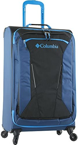 Columbia Kiger 21 Expandable Spinner Suitcase, Coal Night Tide Blue, One Size