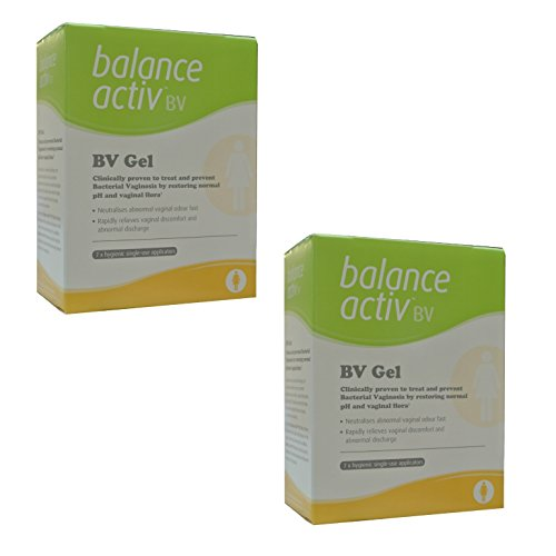 ((2 PACK) - Balance Activ Lactic Acid Gel For Bacterial Vaginosis | 7 Applicator Applicators | 2 PACK - SUPER)