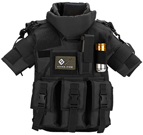 Evike Matrix Tactical Systems High Speed S.D.E.U. Vest - Youth Size - Black - (44376)