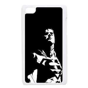 iPod Touch 4 Case White Superman Dark Background GY9209329