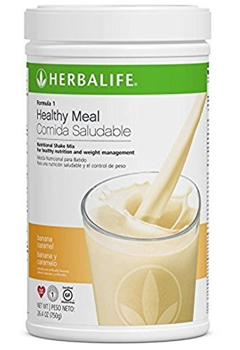 NEW FLAVOR Healthy Meal Nutritional Shake Mix – Banana Caramel 26.4oz