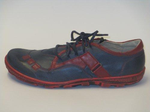 Miccos 200440 Womens Shoes Sporty Blue - Blau/Rot qKyag