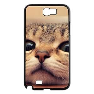 Lovely cat DIY Cover Case for Samsung Galaxy Note 2 N7100 LMc-33467 at WANGJING JINDA