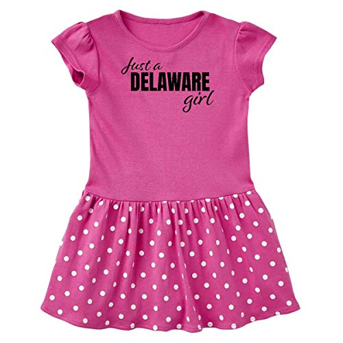 inktastic Just a Delaware Girl Born and Raised Toddler T-Shirt