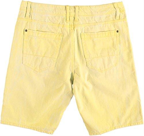 Garcia niedrige loose Jeans Bermuda Zitrone