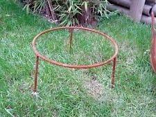 Soporte para brasero Cuenco para plantas, jardín Decorar metal óxido, Jardín, decoración: Amazon.es: Jardín