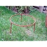 Zen Man Garten Rost St/änder f/ür Feuerschale Pflanzschale aus Metall Rost d=35cm