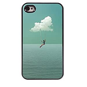 ZL Want to Fly Design Aluminum Hard Case for iPhone 4/4S