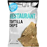 Amazon Brand - Happy Belly Restaurant Tortilla Chips, 10 Ounce
