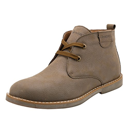 Image of gracosy Desert Boot for Men, Winter Chukka Boot Lace Up Ankle Boots Fashion Casual Shoes