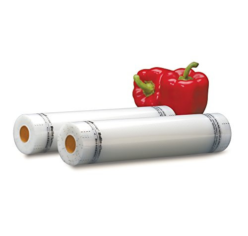 FoodSaver 11'' x 16' Vacuum Seal Rolls with BPA-Free Multilayer Construction for Food Preservation, 2-Pack by FoodSaver (Image #1)