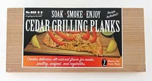 Mr Bar B Q 05020 Cedar Planks Outdoor, Home, Garden, Supply, Maintenance