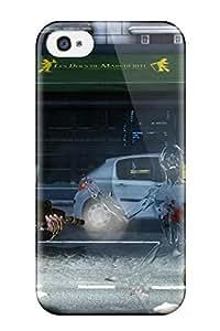 Iphone 4/4s Killing Floor 2 Print High Quality Tpu Gel Frame Case Cover