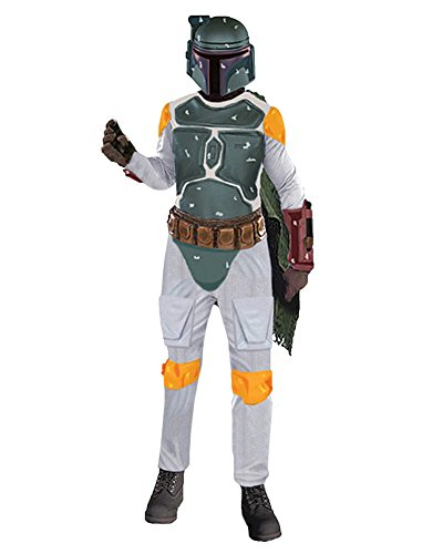 Mens Boba Fett Costume Star Wars Theatre Costumes SciFi Movie Fantasy XL Sizes: One (Sci Fi Costumes Ideas)