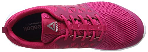 Reebok Sublite Xt Cushion 2.0 Mt, Zapatillas de Trail Running para Mujer Rosa (Pink Craze /             Manic Cherry /             White /             Pewter)