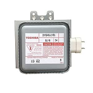 Toshiba 2M248J(XB) - Tubo de magnetrón para microondas (1000 ...