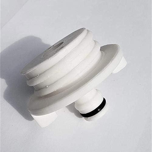 Bocchettone carico acqua universale camper  Nero e bianco 35mm PP
