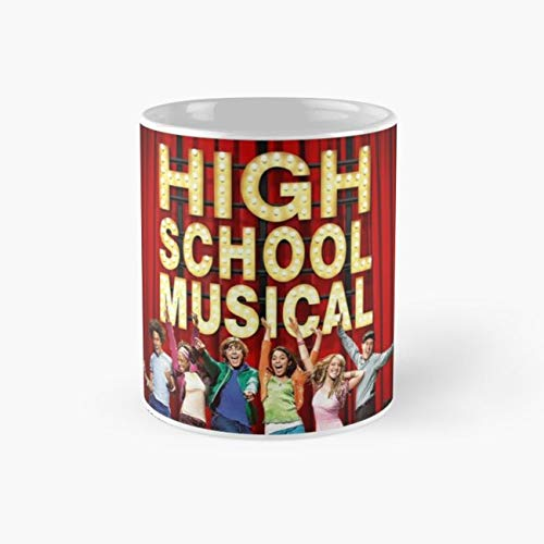 High School Musical Mug, troy bolton Tea Cups, 11 Ounce Ceramic Mugs, Perfect Novelty Gift Mug, Funny Gift Mug, Funny Coffee Mug 11oz, Tea Mugs ()