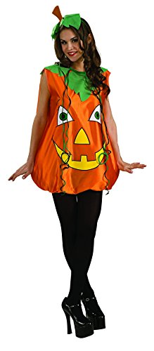 M&m Poncho Costume (Rubie's Pumpkin Pie Costume, Orange,)