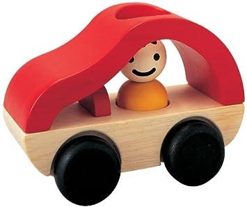 Jouet NaturelMa Première Voiture En Premier Toys Hochet Age Plan Bois SUzMVqpG