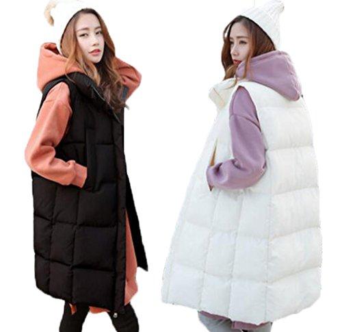 病気の退屈な速報GuDeKe ダウンベスト レディース ロング コート ダウンジャケット 厚手 暖かい 中綿 ロングベスト ノースリーブ 肩掛け アウター 軽量 防寒ジャケット着痩せ 細身 おしゃれ シンプル