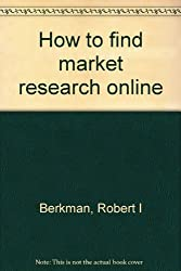 How to find market research online
