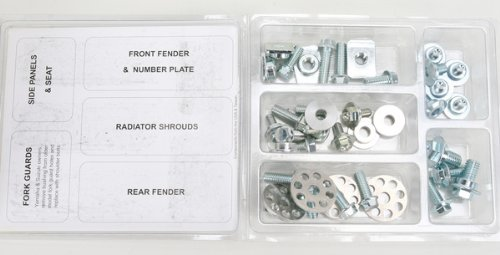 (Bolt MC Hardware Full Plastic Fastener Kit HON-0609020)