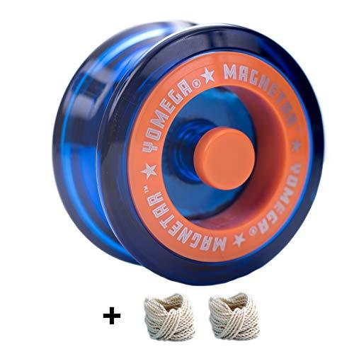 - Yomega Magnetar Neutron Star Spinner + Extra 2 Strings. (Blue)