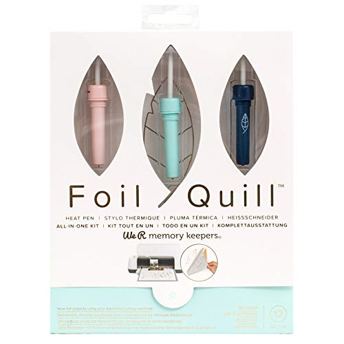 Foil Quill All-in-One Deluxe Bundle, 3 Quill Sizes, 3 Foil Packs, Adapters, Foils, Tape, Design Card by We R Memory Keepers (Image #1)