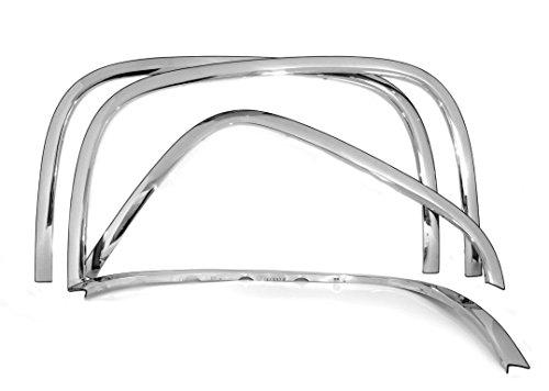 Carrichs FTCH204 07-13 Chevy Silverado 1500 2500HD Stainless Steel Fender Trim
