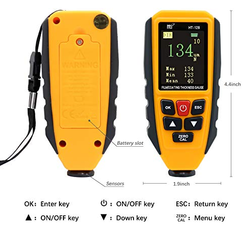 Coating Thickness Gauge Tester 0-1300um Hti-Xintai Automatic Recognition of Ferrous and Non-ferrous Substrates