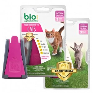Bio Spot Active Care Flea and Tick Spot for Cats Over 5-l...