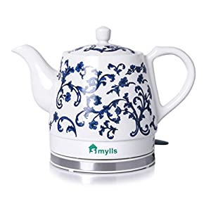 SMYLLS Electric Ceramic Kettle Non-Plastic Kettle, my friend was extremely happy with this gift