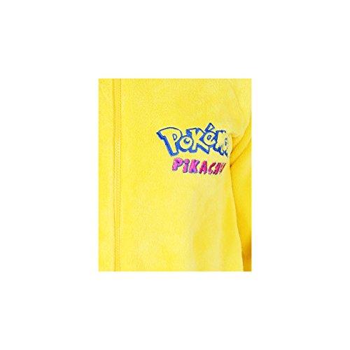 POKEMON Pikachu Ganzkörper Schlafanzug, Schlafoverall, Einteiler, Onesie - 32-34 / UK 6-8 / EU 34-36