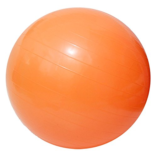 Yoga Fitness Ball Anti-Burst and Slip Resistant Ball with Pump (orange, XL: Diameter:75cm/29.5