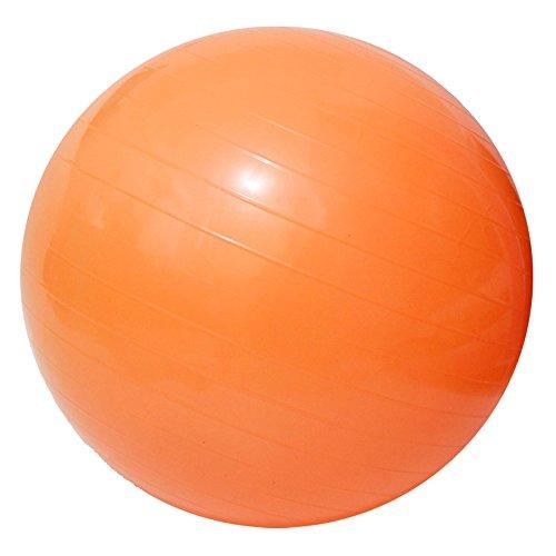 "Yoga Fitness Ball Anti-Burst and Slip Resistant Ball with Pump (orange, XL: Diameter:75cm/29.5"")"