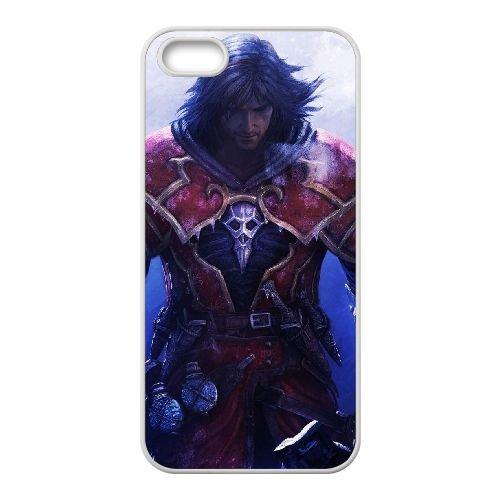 N3O62 seigneurs de Castlevania d'ombre J4Y8QB coque iPhone 4 4s cellulaire cas de téléphone couvercle coque blanche KO8QLM2BP