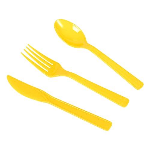 Disposable Dinnerware Set ...  sc 1 st  EventCompass & Disposable Dinnerware Set \u2013 Serves 24 \u2013 Construction Party Supplies ...