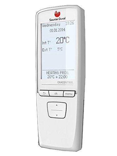 Saunier duval exacontrol e7 termostato rb-b modulando radio