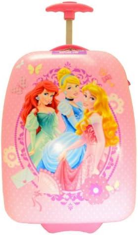Disney Princess Rolling Luggage – Pink