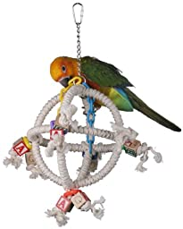 Super Bird Creations 14 by 10-Inch Orbiter Bird Toy, Small to Medium