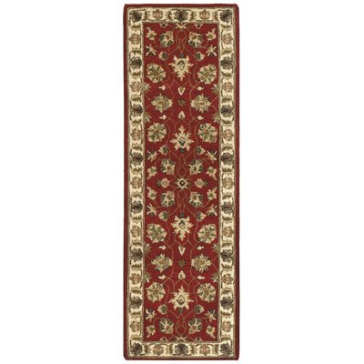 Traditions Agra Runner, 2.5-Feet by 8-Feet, Saffron