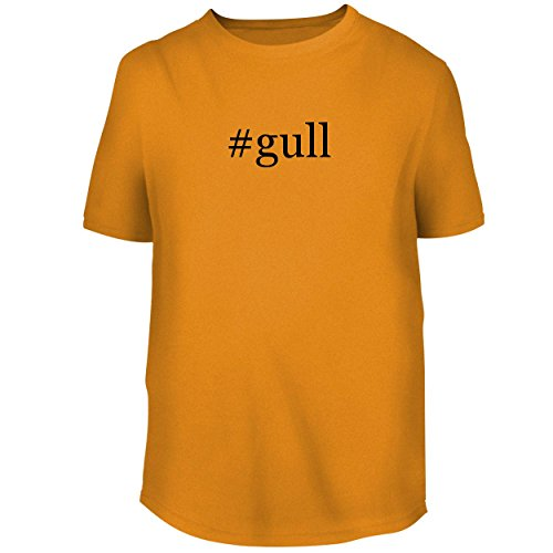 06 Flush Mount Wing - BH Cool Designs #Gull - Men's Graphic Tee, Gold, XXX-Large
