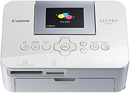 Canon Selphy Cp1000 Fotodrucker 10x15 Cm Weiß Kamera