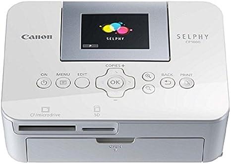 Canon Selphy Cp1000 - Impresora fotográfica: Amazon.es ...