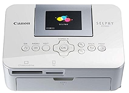 Canon Selphy SCP1000 Photo Printer (White)