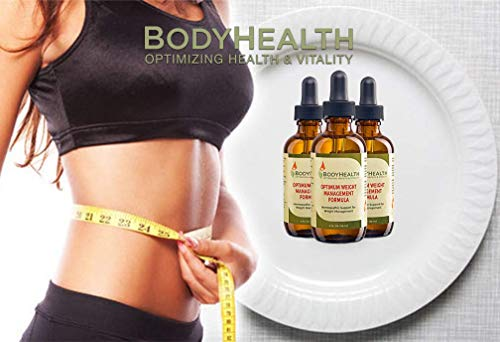 BodyHealth Optimum Weight Management Formula (60 day supply) Natural Weight Loss Liquid Drops, For Rebalancing Metabolic Hormones, With Medically Designed Diet Plan, Quality Ingredients by BodyHealth (Image #3)